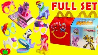 Download 2017 My Little Pony The Movie McDonald's Happy Meal Toys Full Set Video