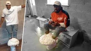Download Here's what happens if you bury your feet in EXPANDING FOAM (in a toilet) Video
