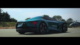 Download DS X E-Tense 2018 // Electric roadster Video