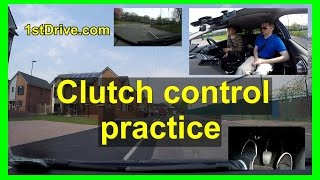 Download Clutch control practice with pedal camera Video
