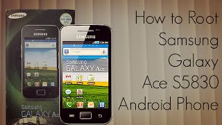Download How to Root Samsung Galaxy Ace S5830 Android Phone - PhoneRadar - PhoneRadar Video