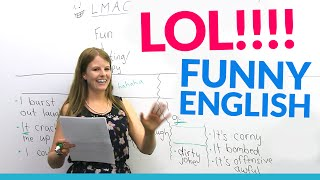 Download LOL!! Learn English vocabulary about JOKES: hilarious, dirty joke, LMAO... Video