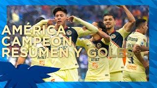 Download CAMPEONES‼️ Club América 2-0 Cruz Azul | RESUMEN - Gran Final - Vuelta | AP2018 | LigaMX Video