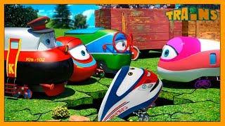 Download My Red Train / TRAINS Cartoon / New Episode / The Best Helper / Trains Cartoon for Children Video