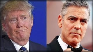 Download CLOONEY TRIES BEING SMART ALECK TO TRUMP, EMBARASSES HIMSELF WITH DUMB MISTAKE Video