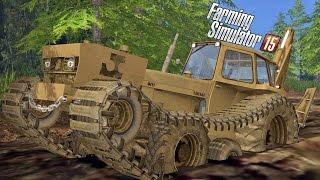 Download Trator de Esteira na Lama [Muddy Map] - Farming Simulator 2015 Multiplayer + Logitech G27 Video