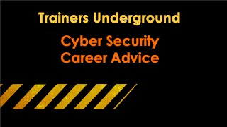 Download Career Advice in Cyber Security Video