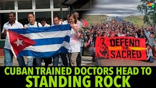 Download Cuba-Trained Doctors Travel to Standing Rock Video