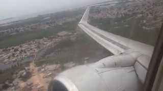 Download Taag 737-700 goes max power after take off; scary engine roar!!!!! while turning Video