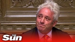 Download Tearful John Bercow announces his resignation as Speaker Video