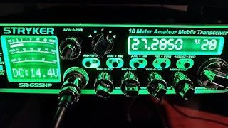 Download Stryker 655HP. Good radio tuning vs bad radio tuning. Does your cb shop know what they are doing?? Video