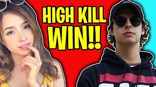 Download HIGH KILL DUOS WITH POKIMANE IN FORTNITE BATTLE ROYALE!! Video