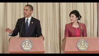 Download President Obama & Prime Minister Shinawatra Joint Press Conference Video