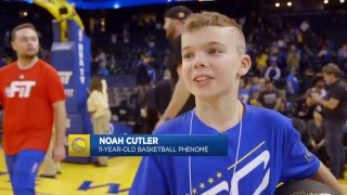 Download 11-Year-Old Kid Shows Off His Handles on Warriors Ground Video