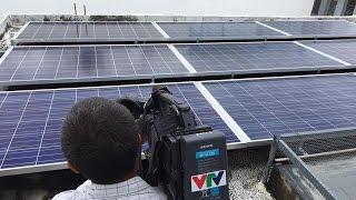 Download Giới thiệu hệ thống Điện mặt trời của Tân Nguyễn (phóng sự của VTV) Video