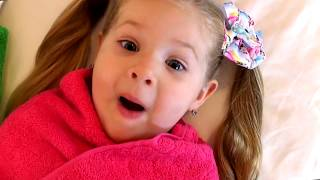 Download Diana pretend play with Baby Dolls Kids video Video