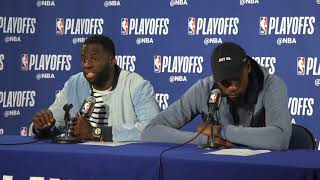 Download Draymond Green responds to Chris Webber saying he wouldn't start on some teams Video