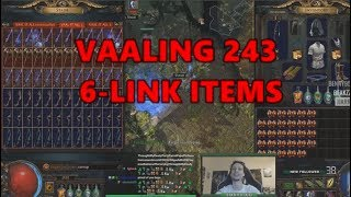 Download [PoE] Stream Highlights #210 - Vaaling 243 6-link items Video
