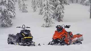 Download 2018 Mountain Sled Shootout: Ski-Doo VS Polaris Video