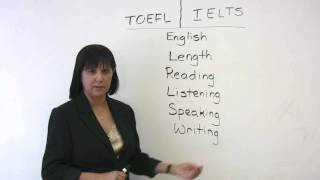 Download TOEFL or IELTS? Which exam should you take? Video