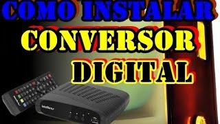 Download Como Instalar Conversor Digital na Tv Antiga e Configurar os Canal Passo a Passo Video