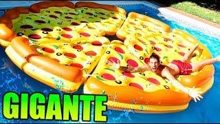 Download CREAMOS UNA PIZZA GIGANTE EN LA PISCINA !! Makiman131 Video