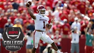 Download College Football Highlights: Kyler Murray's 3 TD passes lifts No. 5 Oklahoma over Iowa State | ESPN Video