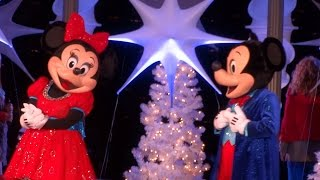 Download Fashion Island 2015 Christmas tree lighting ceremony with Mickey, Minnie, Donald, Goofy, and Olaf Video