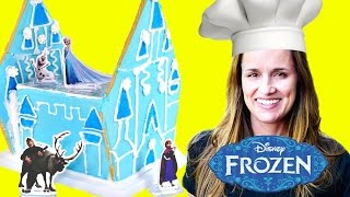 Download FROZEN GINGERBREAD HOUSE - - - Disney Frozen Sugar Cookie Castle Craft Kit Video