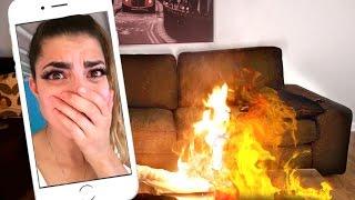 Download BOYFRIEND FACETIME FIRE PRANK! Video