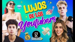 Download LA LUJOSA VIDA DE LOS YOUTUBERS - 52 Rankings Video