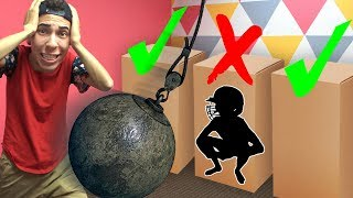 Download DONT Wrecking Ball through the Wrong Box! Video