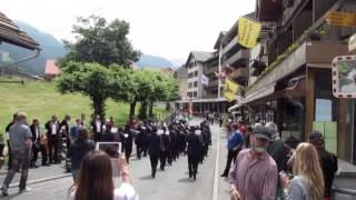 Download Wengen, Switzerland, July 2014 Video