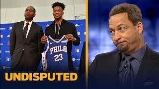 Download Chris Broussard says there are many 'red flags' on Jimmy Butler joining the 76ers | NBA | UNDISPUTED Video