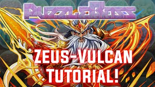 Download Zeus-Vulcan Tutorial! - Puzzle and Dragons - パズドラ Video