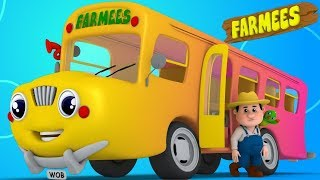 Download Wheels on the Bus Nursery Rhymes for Babies | Kids Songs & Cartoon Videos for Children Video
