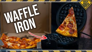 Download Is it a Good Idea to put PIZZA in a Waffle Iron? Video