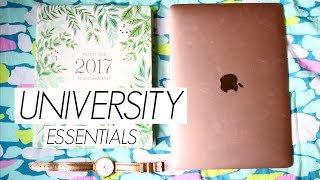 Download THINGS EVERY GIRL NEEDS FOR UNIVERSITY! College Essentials! Video