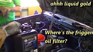 Download Nissan Terrano oil and fuel filter quick tips Video