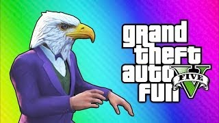 Download GTA 5 Online Funny Moments - Air Walk Glitch, Faggio Cop Glitch, Beer Hat Crate! Video