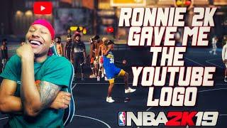 Download Ronnie 2K gave Duke Dennis his YOUTUBE LOGO! Stretch Big Demigod RETURNS! Best Build NBA 2K19! Video