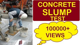 Download Slump Test of Concrete Video