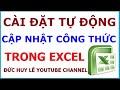 Download Sửa lỗi file Excel không tự nhảy công thức, kết quả Video