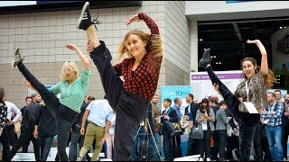 Download HUGE Flash Mob Shocks Tradeshow Visitors! Video