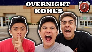Download 24 HOUR OVERNIGHT CHALLENGE IN KOHL'S!! Video