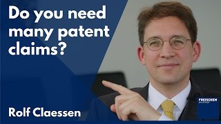 Download Does it help to have a lot of patent claims? Video