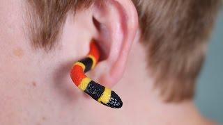 Download SNAKE IN EAR! Video