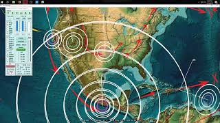 Download 2/16/2018 - Large M7.2 (M7.5) earthquake strikes South Mexico - Pacific unrest hits Americas Video