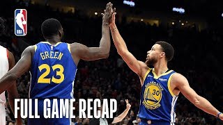 Download WARRIORS vs TRAIL BLAZERS | Golden State Comes Back Again | Game 3 Video