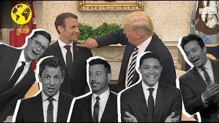 Download Macron-Trump : un régal pour les talk shows américains Video